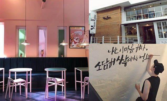 姐喝的不是咖啡,是少女心!10間訪韓必朝聖「韓星咖啡廳」,人品夠好還能看見活生生的歐爸!