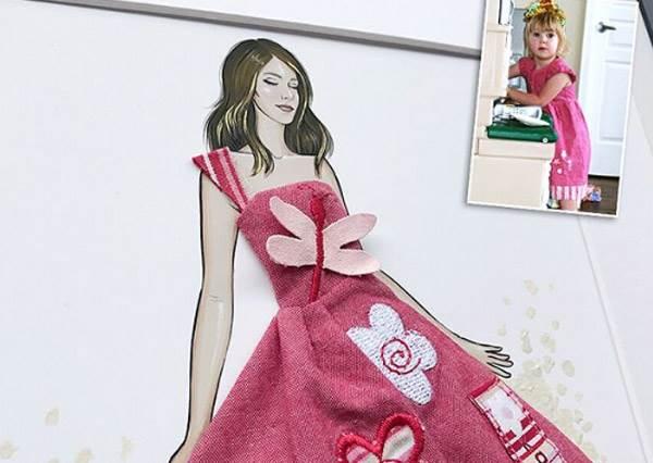 這麼迷你的禮服哪裡買?神手媽咪「萌娃可愛服裝改造秀」,包屁衣做的超cute小小熱氣球讓人想要啊!