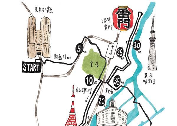 此生必跑東京馬拉松,9個實用注意事項讓你無隔閡輕鬆完賽!
