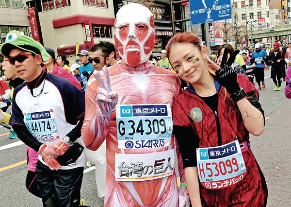 邊跑邊逛街?女生專屬東京跑步路線地圖(跑完立馬多了十包戰利品XD)