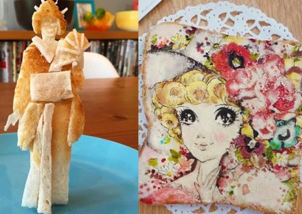 早餐想點「一仙藝妓」還是「喬琪姑娘」?超浮誇神人手作療癒吐司,這台烤麵包機吃了狂噴淚是包了洋蔥嗎?