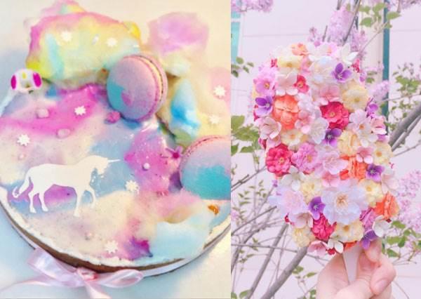 連詩仙李白都臣服了啊!超華麗「詩情畫意系幻境甜點」大集合♡讓韓國少女都瘋了的花朵雪糕實在太欠拍了