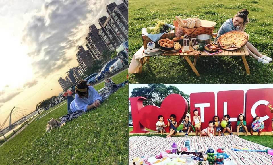 出發吧~草地就是我們的戰場!《台北4大野餐聖地推薦》3樣必備夯物讓妳成為全場焦點!