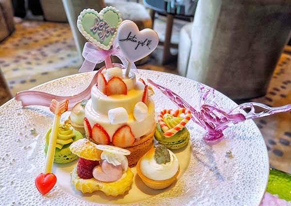 網美系甜點又來撩少女心♡東京必朝聖的『夢幻下午茶店』, 6種鹹食&甜點超欠拍,棉花糖蛋糕好犯規啊~