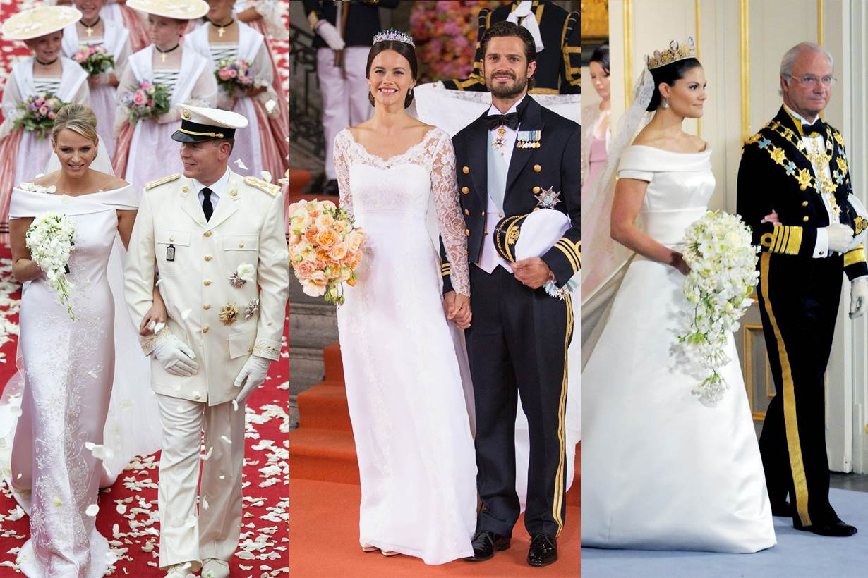厚重白紗out!30件公主、王妃、皇后穿的婚紗告訴妳什麼叫「穿出一個仙女氣」!