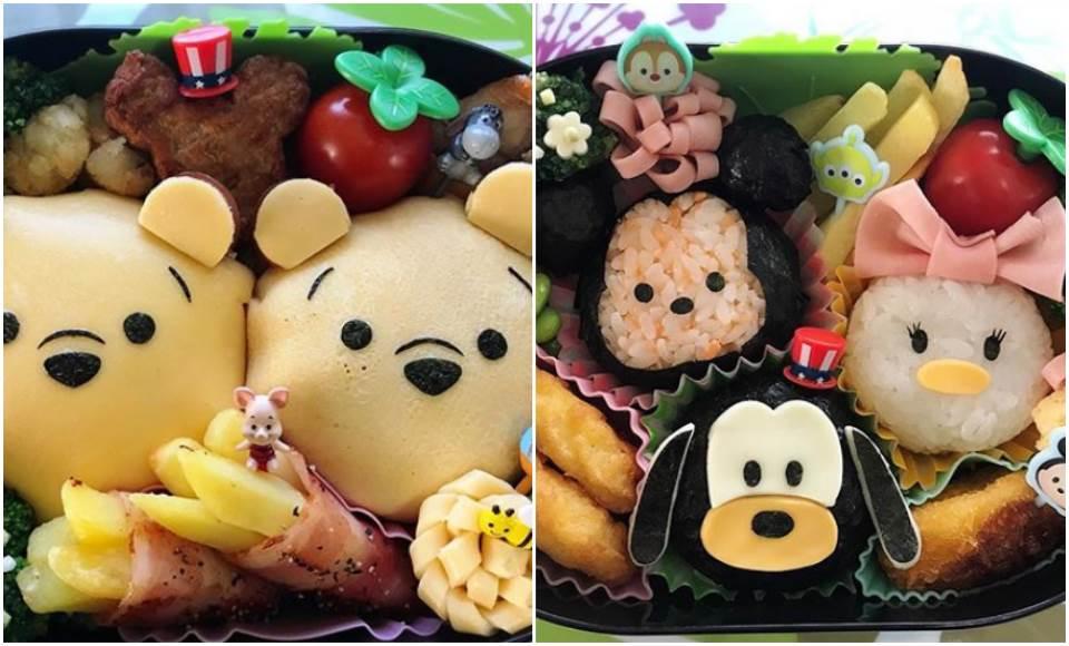 舉手~請問還缺乾女兒嗎?日本媽媽超狂「卡通便當」大公開,連Disney餐廳主廚都直接奉上膝蓋了啦!