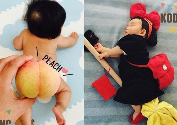 媽媽真的沒在整你嗎?神療癒的「萌娃超逗趣創意KUSO照」,家有蠟筆小新三胞胎真的太崩潰了啦!