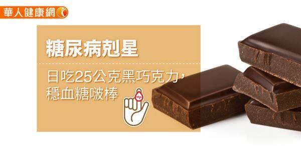 糖尿病患可以吃甜食嗎?每日少量的「黑巧克力」搭配「限醣飲食」,遠離糖尿病好簡單!