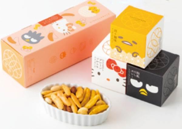 擔擔麵也能變餅乾?期間限定三麗鷗「柿種餅乾」包裝Q翻天,不管是蛋黃哥或Hello Kitty都先囤個5盒吧~