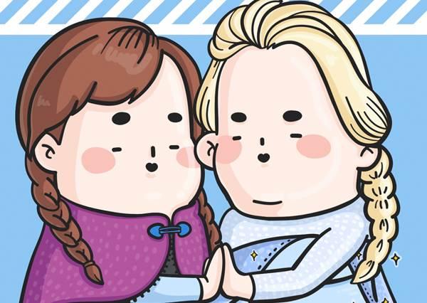 樂佩公主頭髮長、腿毛也hen長(大驚)!歡迎進入少女心碎的「毀容版童話之-迪士尼公主們不能說的秘密」!