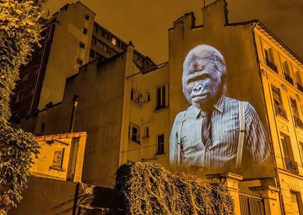 有看過這麼潮的老鷹嗎?來看看藝術家如何在法國實現「都市叢林」!