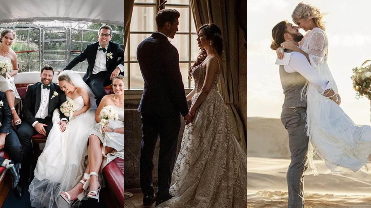 在海天見證之下說I do!4款超美「戶外婚禮」根本女孩的夢想,從現在開始存錢去城堡當公主啦~