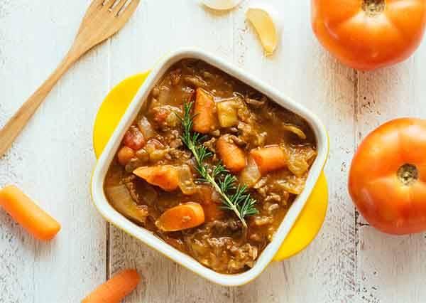 神奇的一鍋料理!不用放水也能做出超美味的番茄咖哩鍋