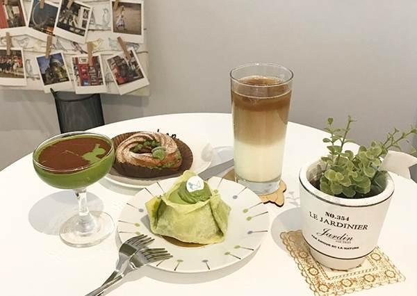 連中南部都綠綠der!抹茶控必收超夯口袋清單:這道鐵板抹茶熱蛋糕根本意圖使人幸福肥啊!