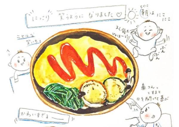覺得美!怎麼有人能把「每日天氣+午餐菜」畫得那摸生動,讓人好想天天吃一道的《可愛手繪日記本》!