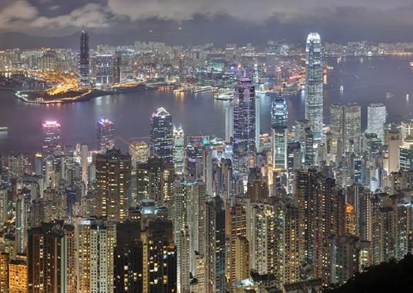 無敵夜景超心動!來香港就是要揪閨蜜啊