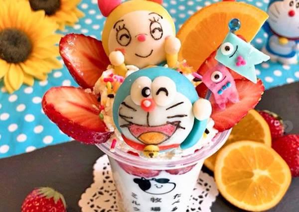 廚房內是藏了a夢百寶袋嗎?超人日本媽媽的《可愛哆啦A夢料理大集合》,a夢混搭麵包超人冷麵跪求販售啊!