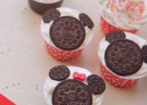 迪士尼控不學會後悔!超萌米奇杯子蛋糕DIY,連男友都要跟你搶食啦