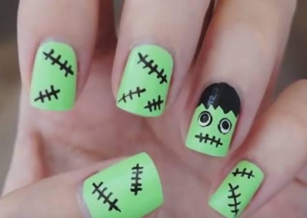 指尖也要Halloween!5種搞怪指甲彩繪好有戲