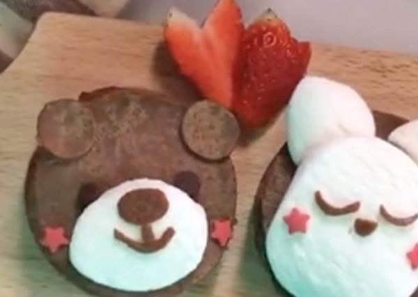 少女心大爆發!超簡單的「動物系Q萌千層蛋糕」,不求人也能自己做!