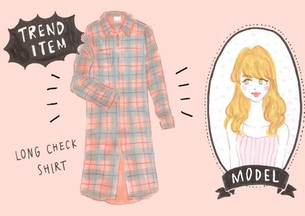 用現有的衣服變時尚!秋天經典格子襯衫的受男生vs女生喜愛的重覆穿搭術