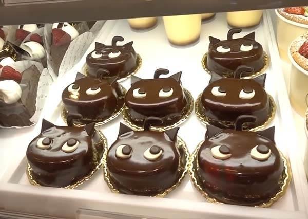 黑貓造型蛋糕怎麼捨得吃! 療癒系黑貓主題咖啡廳❤