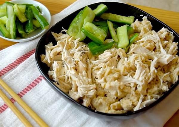 懶人料理!低卡雞絲燕麥粥 健身減重3步驟電鍋料理GET