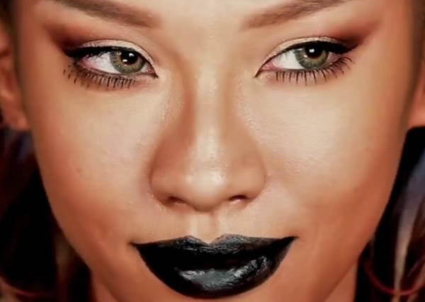 亞洲臉孔也能仿出歐美妝容!性感有個性的蕾哈娜天后妝,6步驟就能搞定!