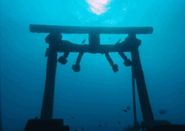 要拜拜還得先潛水?!想體驗最難參拜的水底神社,那就一定要造訪這裡!(路人是可愛的海底生物耶)