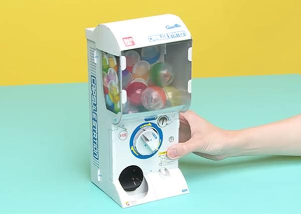 折一折就能GET扭蛋機?!日本「DIY迷你扭蛋機」趣味滿分,這種手作等級竟然只是幼稚園程度啊~