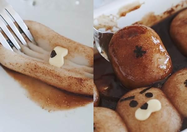 萌翻❤海獅造型黑糖麻糬DIY 不只吃起來Q連外表都超Q!
