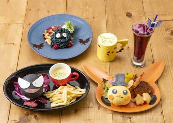 皮卡丘單飛開餐廳啦♡日本「Pokémon Cafe」限定菜單萌度升級,把鬼斯吃下肚真的沒問題嗎?