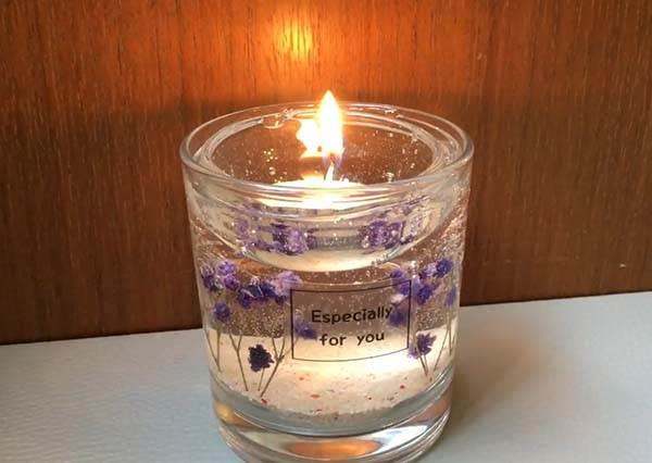 超唯美乾燥花果凍蠟燭DIY 5步驟浪漫氛圍輕鬆GET❤