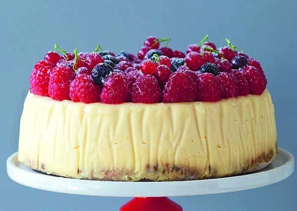 幸福!莓果口味的起司蛋糕,照著這個食譜就能在家自己輕鬆做