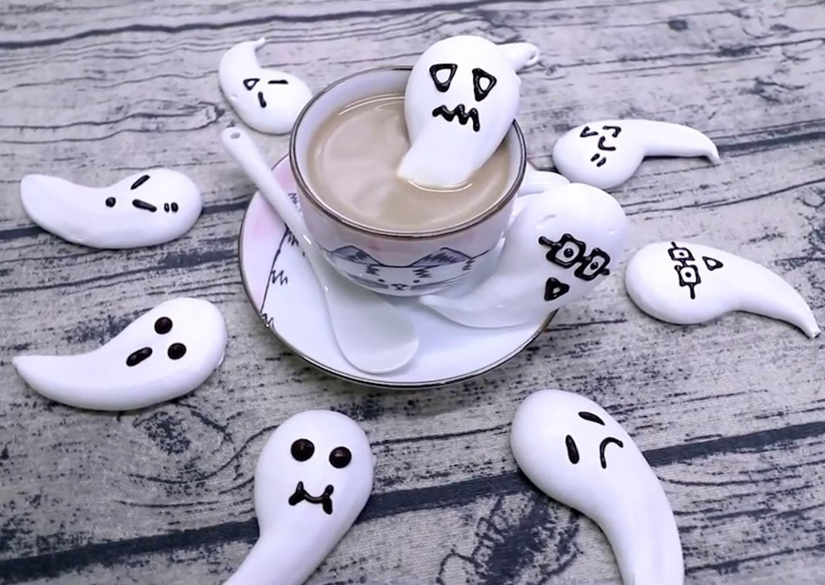 萬聖節搞鬼也能賣萌❤ 3種材料生出可愛小幽靈