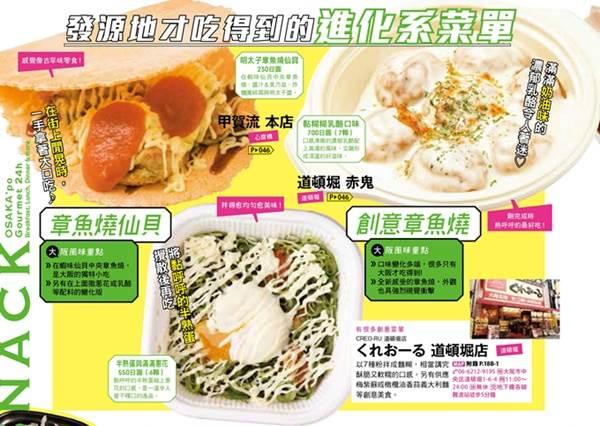 吃過的叫你一聲美食達人!大阪當地才有的「進化版小吃」:章魚燒蓋上牽絲乳酪罪惡到不行啊!