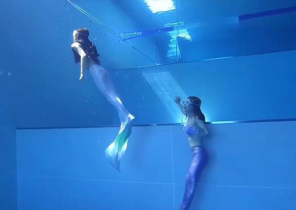 化身美人魚來場水中冒險❤ 台中必去療癒系潛水旅館