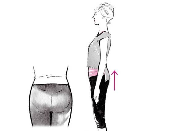 股關節可以動的範圍一旦變小,屁股就會下垂