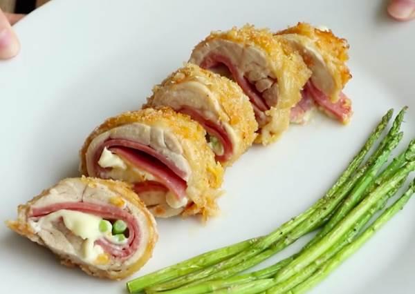 比夜市賣的還要爆漿!想吃香酥起司雞肉捲自己炸,「好吃關鍵」就是要對雞腿肉做這件事!