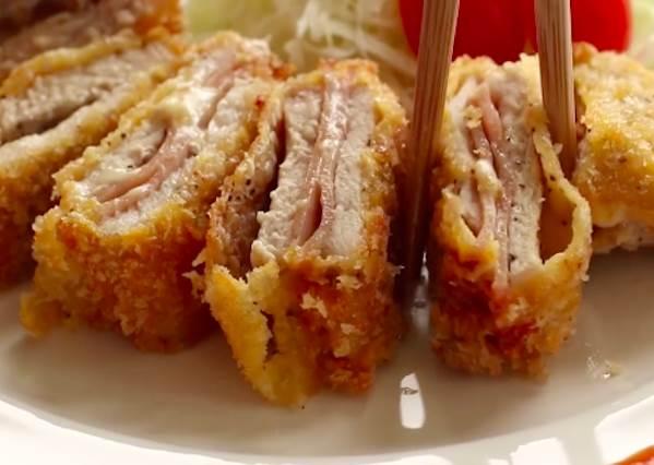 佛系減重少女的最愛!外酥內嫩「藍帶豬排」太涮嘴,甩油什麼的先吃一塊再說吧!