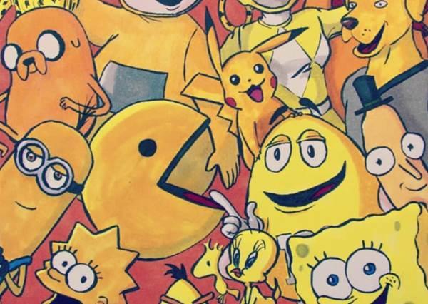 你的童年回憶是哪色?《9種小時候最愛顏色卡通人物大集合》,黃色控這組當年也讓你貢獻滿滿零用錢嗎?