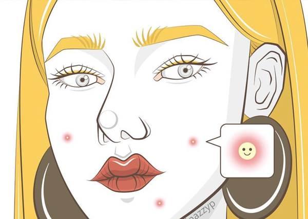 擦了美翻天紫紅唇膏男友卻說你中毒!5個女孩秒崩潰「愛美小事件」,能把眉毛畫順的根本美術系高材生啊!