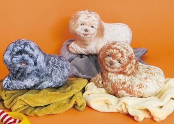 這隻狗狗只要吃棉被就好?!日本療癒100%「動物居家小物」超實用,冬天有他們就不寂寞啦~