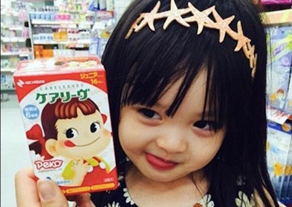 日韓混血小蘿莉萌到像天使下凡,瞬間征服全球300萬的網友!