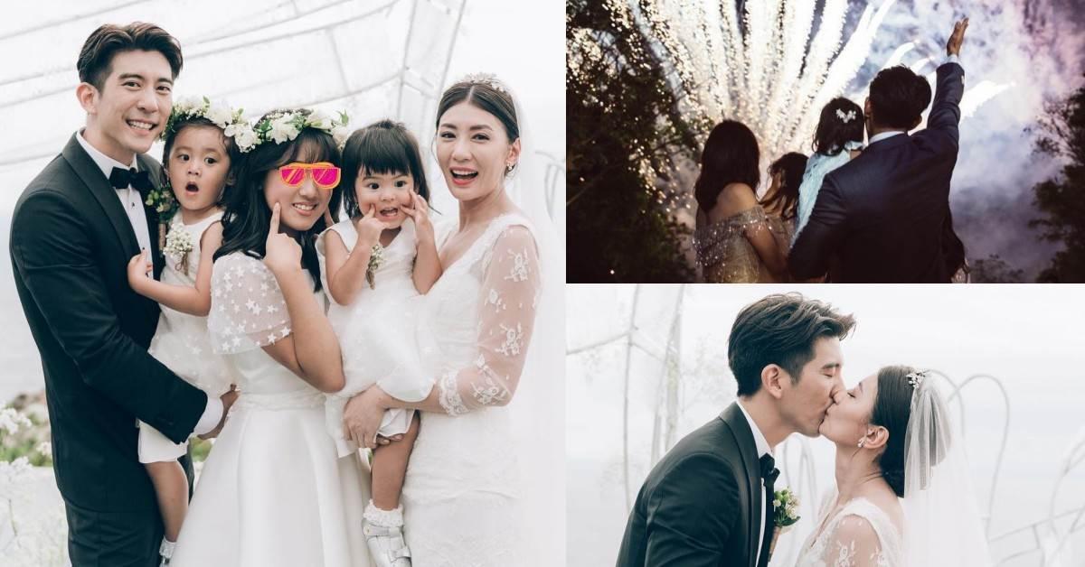 賈靜雯終於嫁給了愛情!超美海島婚禮浪漫哭,修杰楷「5寵妻金句」聽過都淚崩啊~