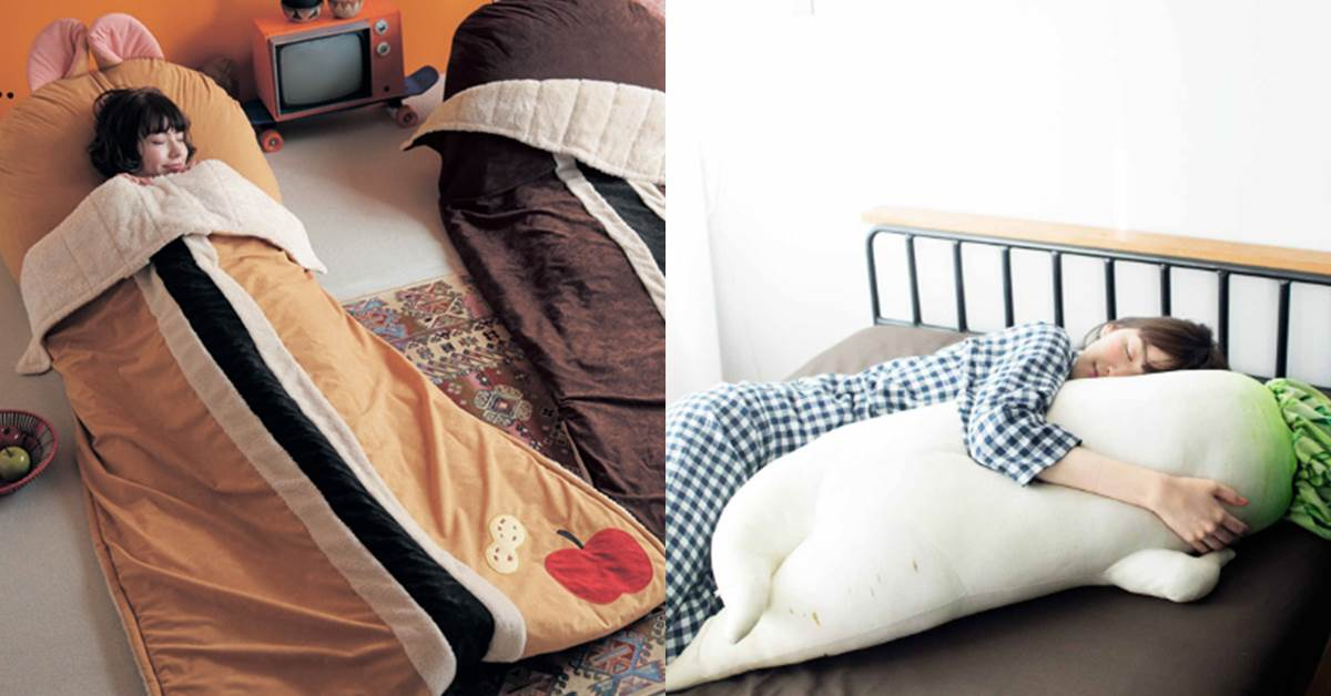 可愛到拒絕起床!《超萌寢具系列》根本耍廢好夥伴,冬天就是要軟爛在奇奇蒂蒂睡袋裡啊!