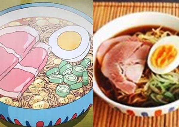 波妞那碗拉麵現實中也吃得到!日本女孩神還原宮崎駿動畫美食,吃下神隱少女的包子肯定淚流滿面啊
