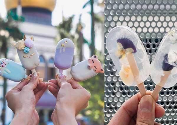 透明蛋糕是仙女在吃的甜點嗎?!《超可愛卡通冰棒蛋糕》,好想讓TIFFANY藍毛怪住進我胃裡啦~