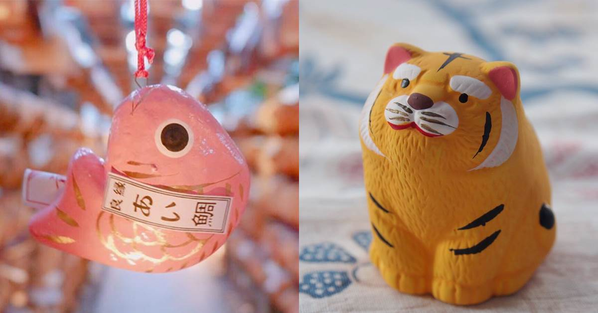 抽到大凶也要帶回家!日本10神社「萌翻御守」超欠蒐集:粉紅色鯛魚不釣一隻說不過去啊~