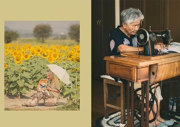 時間偷不走的回憶!孫子「紀錄祖母日常」超暖心,光看照片就能感受到幸福的moment啊~